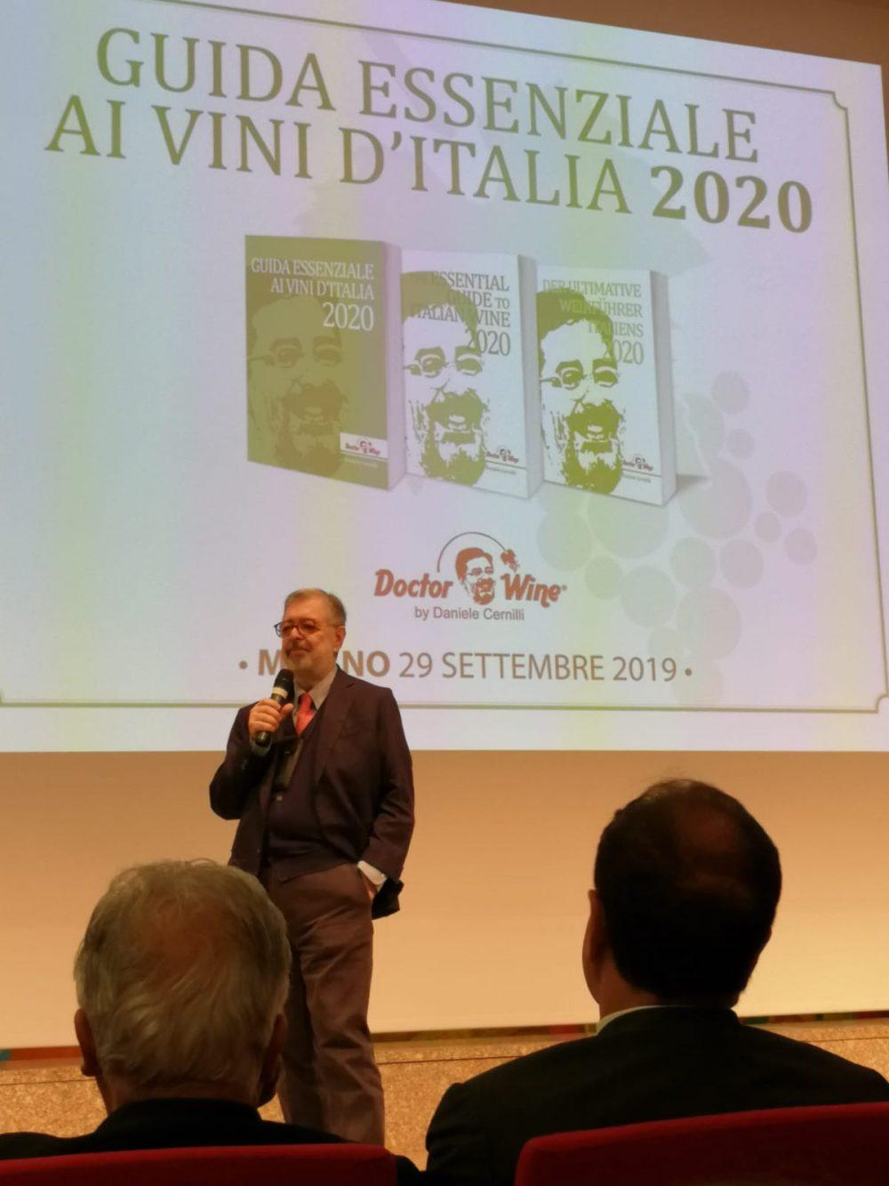 Daniele Cernilli - Presentazione Guida Essenziale ai Vini d'Italia DoctorWine