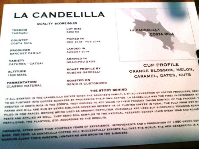 Gardelli- La scheda del caffe'