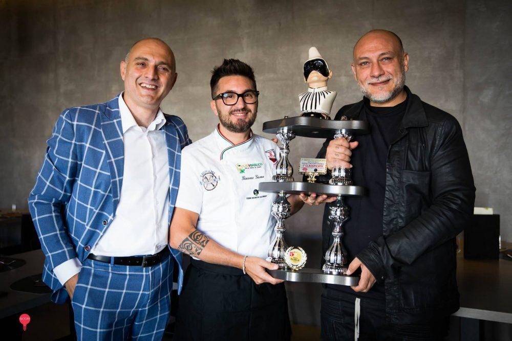 Giacomo Garau, Attilio Albachiara e Francesco Martucci