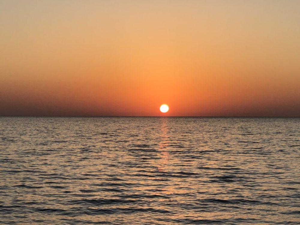 I Moresani, tramonto