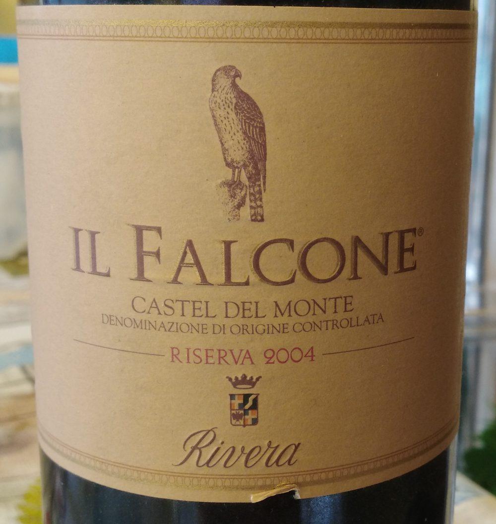 Il Falcone Castel del Monte Riserva Doc 2004 Rivera