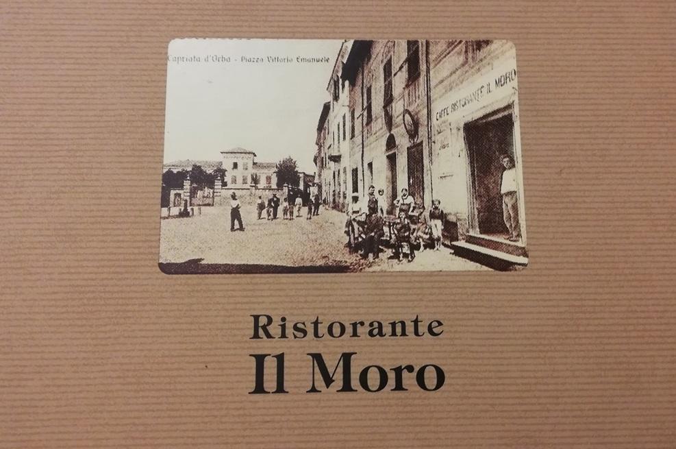Il Moro - menu'