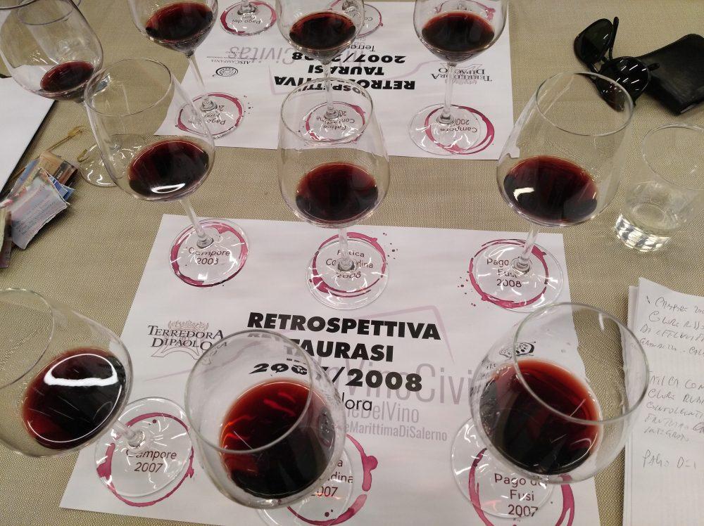 In Vino Civitas Degustazione di Taurasi di Terredora