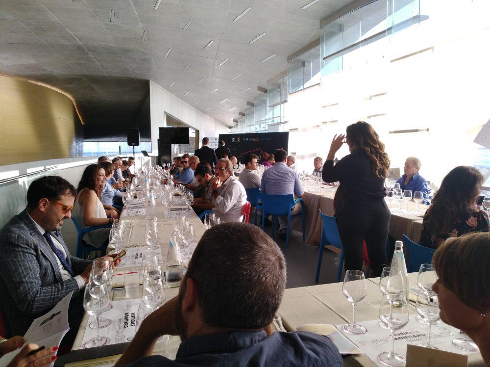 In Vino Civitas Pubblico presente per la degustazione del Montiano in verticale