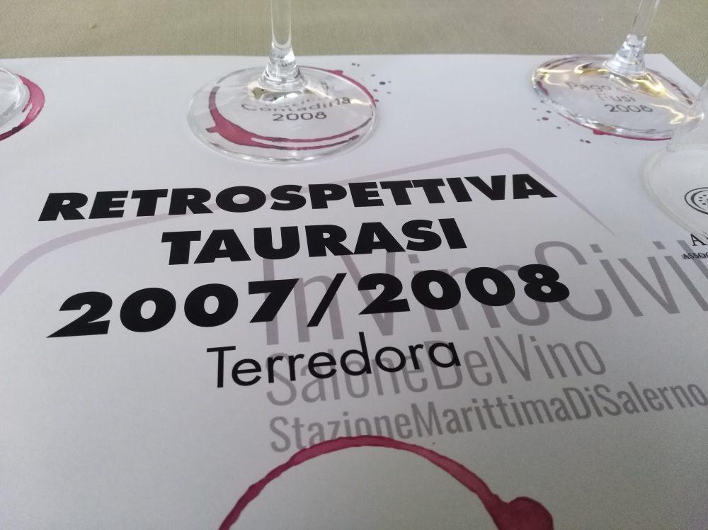 In Vino Veritas Retrospettiva del Taurasi di Terredora