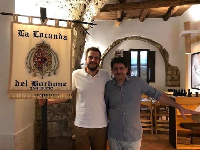 La Locanda del Borbone- Carlo Landolfi e il figlio Daniele