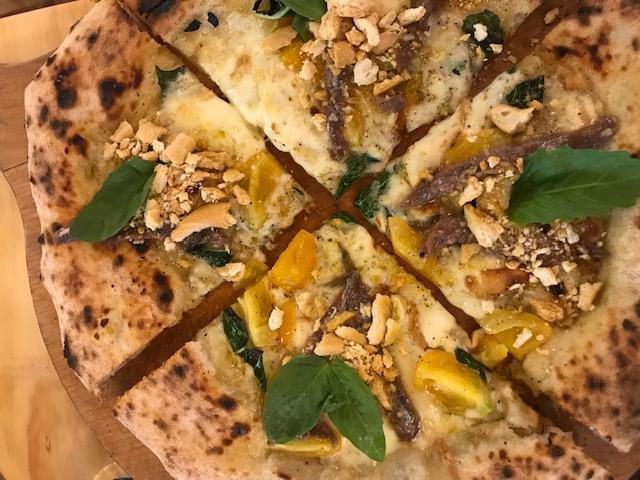 La Locanda del Borbone - pizza Cetara