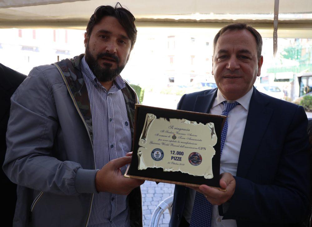 La Piccola Napoli - Consegna Targa
