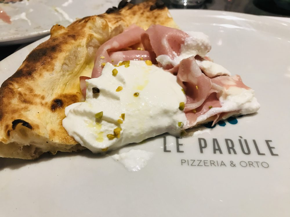 Le Parule Pizzeria & Orto - Pizza Romagnola