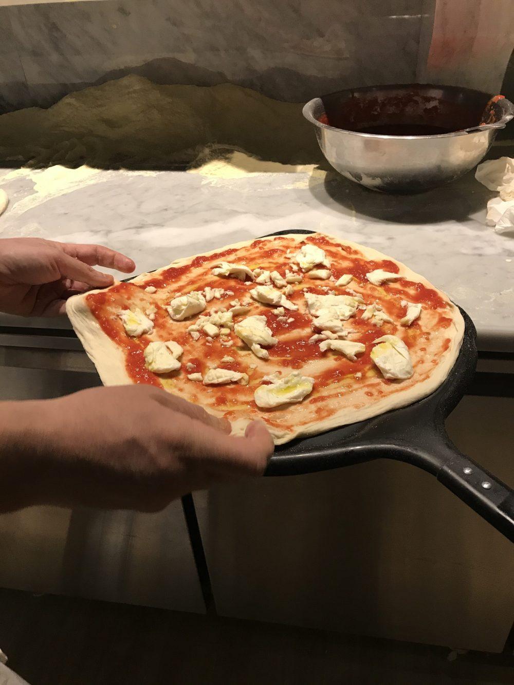 Le Parule Pizzeria & Orto - preparazione