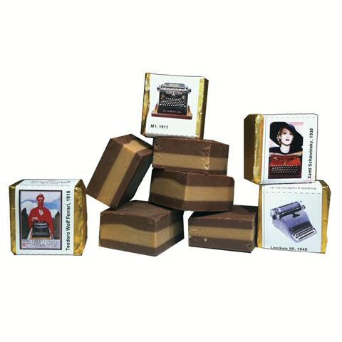 Nella Cioccolata - i tastini Olivetti