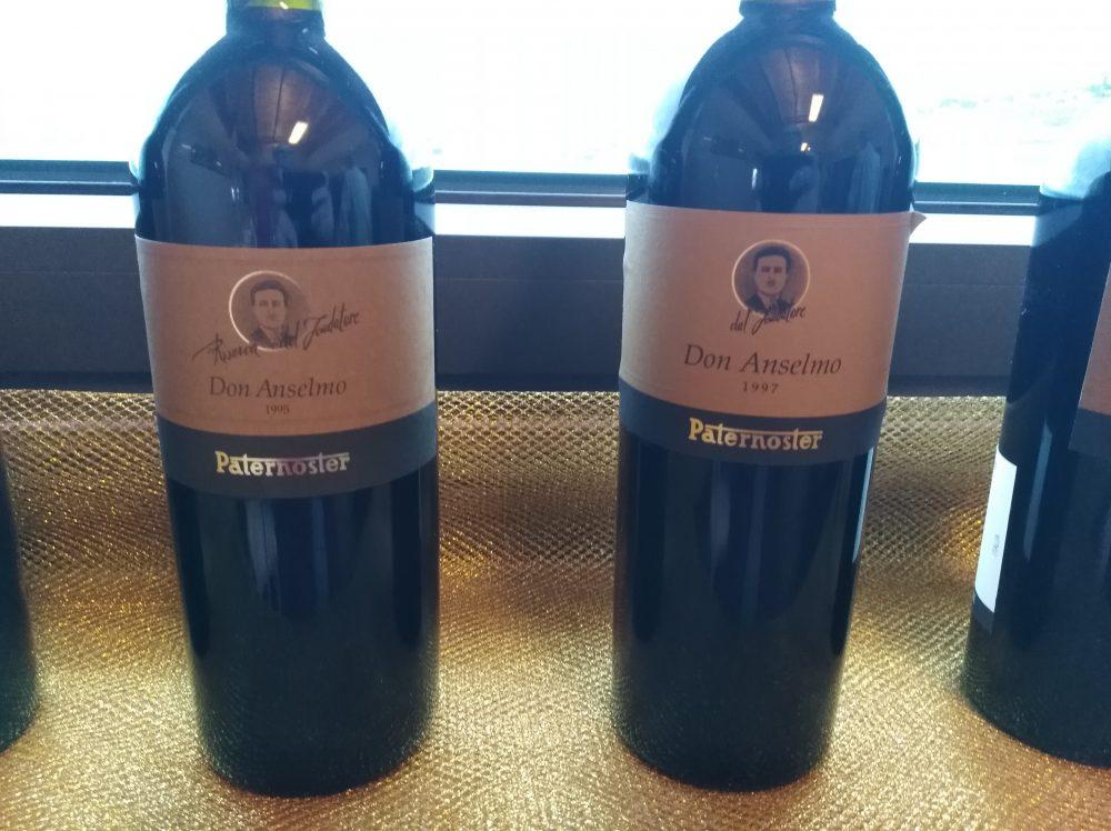 Paternoster Bottiglie di Don Anselmo