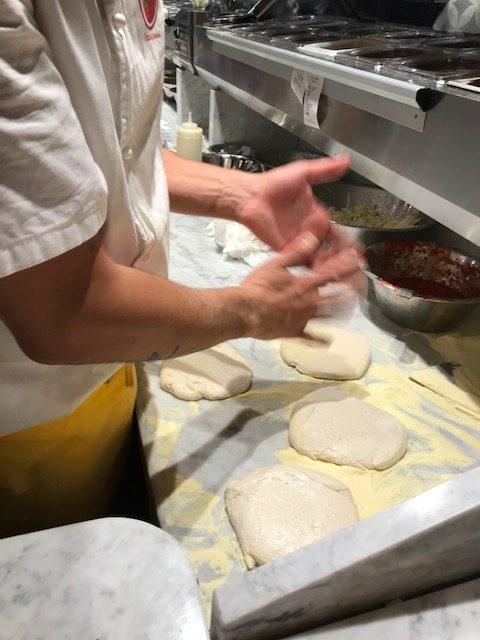 Pizzaingrammi Pozzuoli - impasto