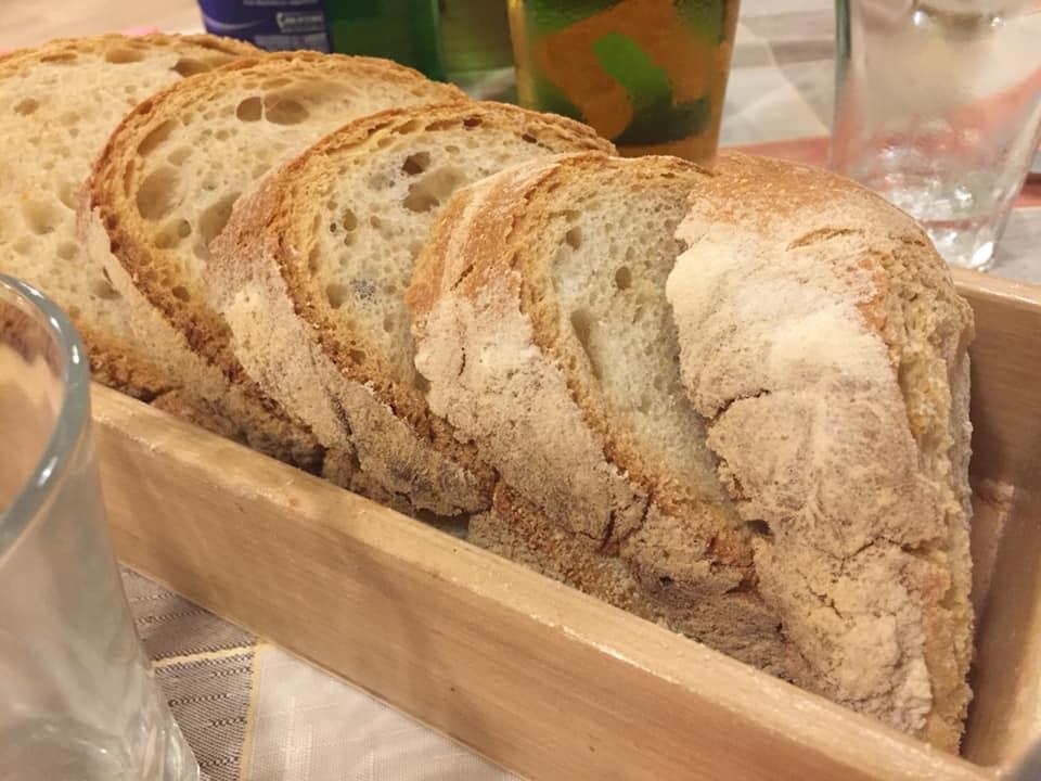 Trattoria L'Avvolgibile, il pane