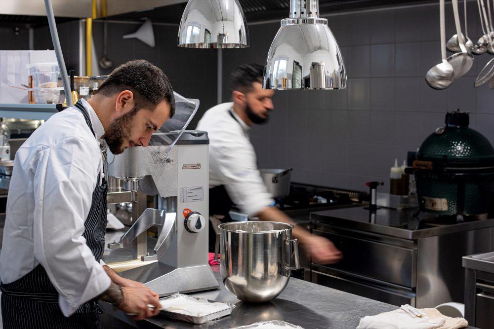 Vitium Michele Minchillo in cucina