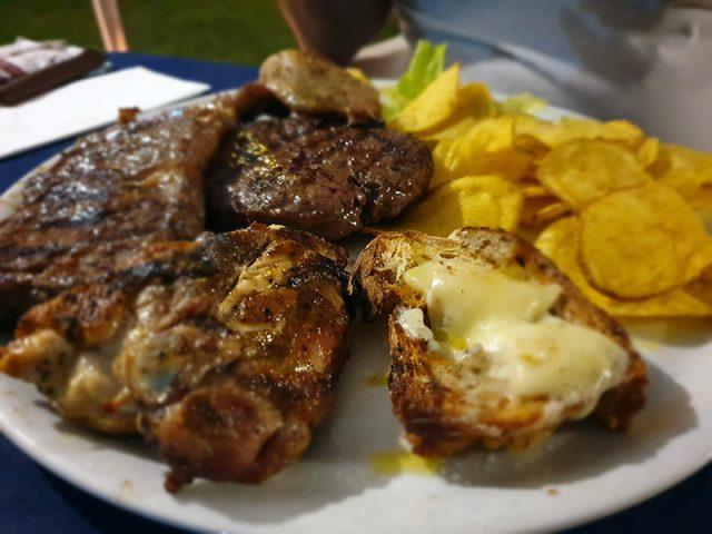 Carne e caciocavallo alla griglia - Podere 1099