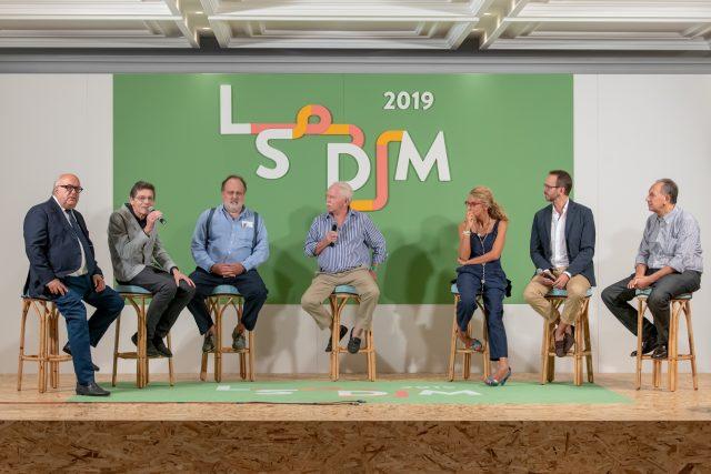 dibattito tra i giornalisti a LSDM 2019