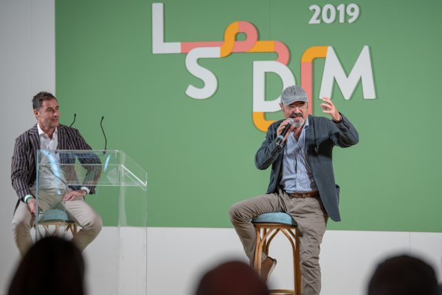 Ernesto Iaccarino e Pino Aprile a LSDM 2019
