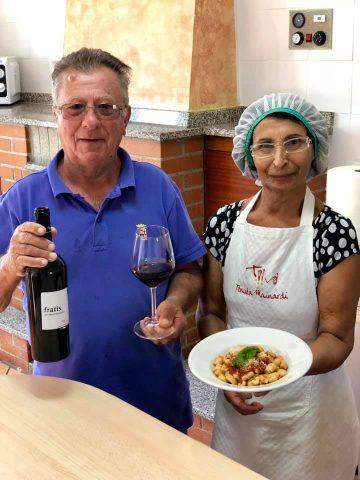 mamma Rocchina e papà Domenico