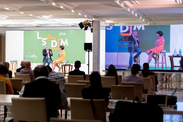 Mario Gamba a LSDM 2019 con Barbara Guerra