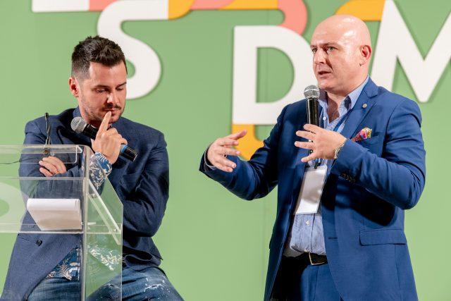 Pier Daniele Seu e Albert Sapere a LSDM 2019