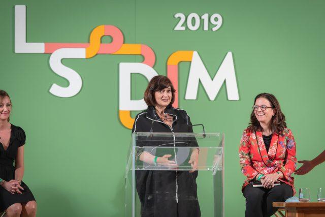Lorenza Vitali, Matteo Zappile, Mariella Caputo, Stefania Giordano a LSDM 2019