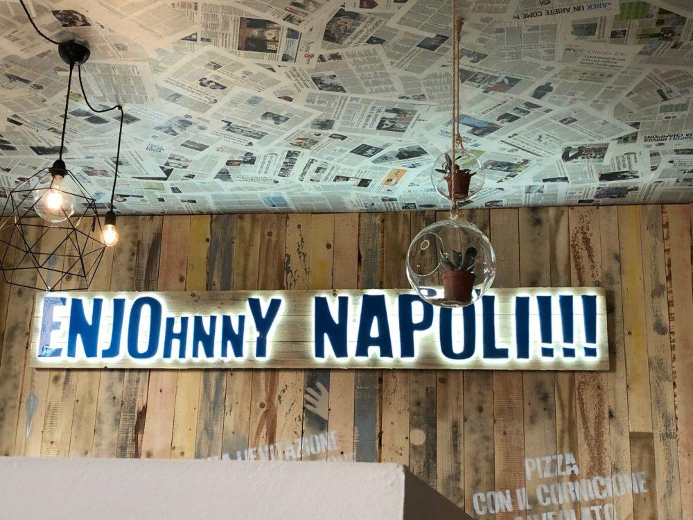 Johnny Takeue', ENJOhnnY NAPOLI