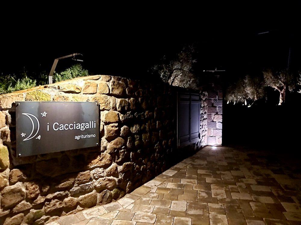 I Cacciagalli – ingresso all'esterno