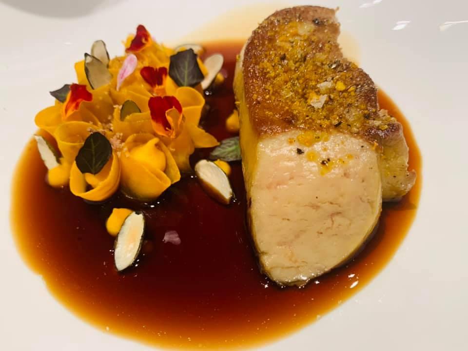 Grand Hotel Parker's - Foie Gras con zucca e salsa di zucca