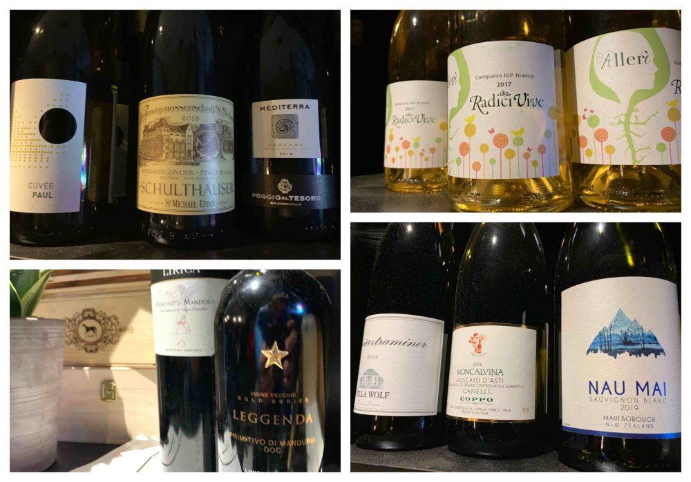 11. Wine & Delicious - Varie etichette di vino