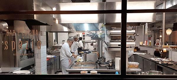 Spazio Nico Romito, cucina