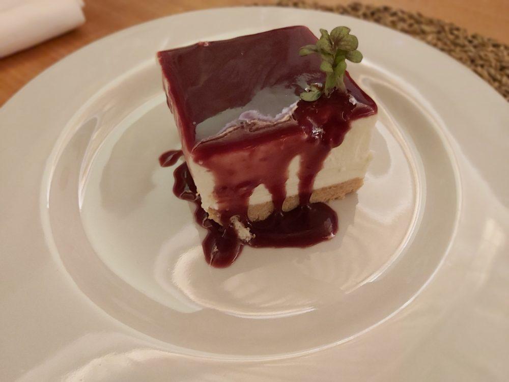 I Cacciagalli – cheesecake al melograno