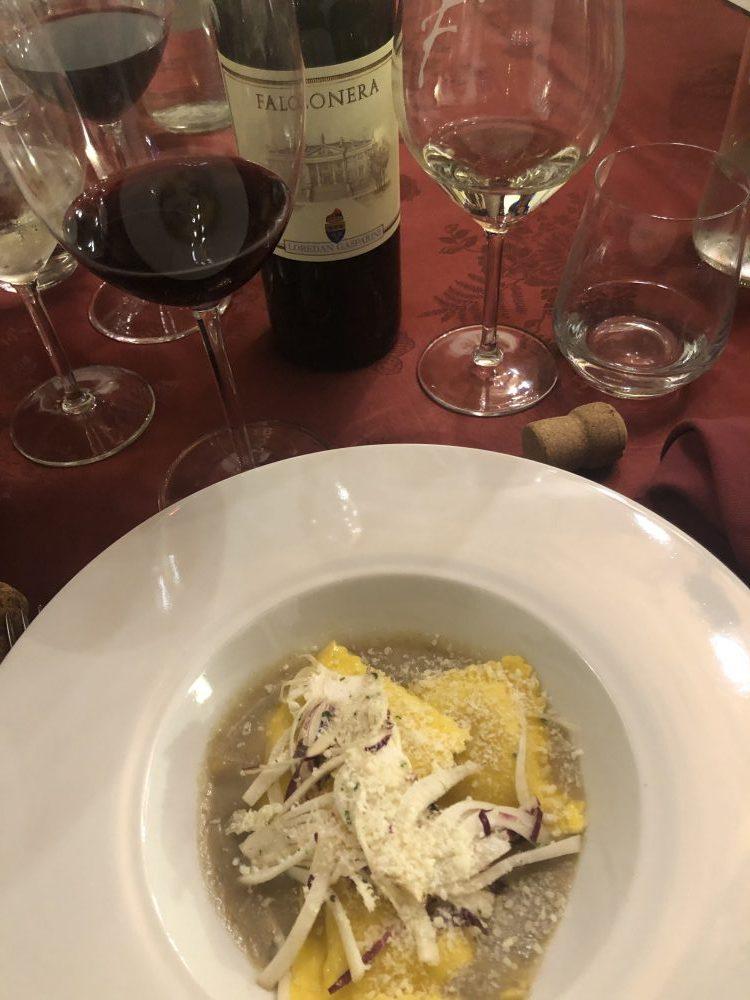 Abbinamenti - vini bianchi morbidi e rossi poco tannici
