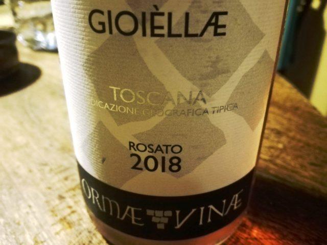 Gioiellae, Toscana igt rosato 2018, Ormae Vinae