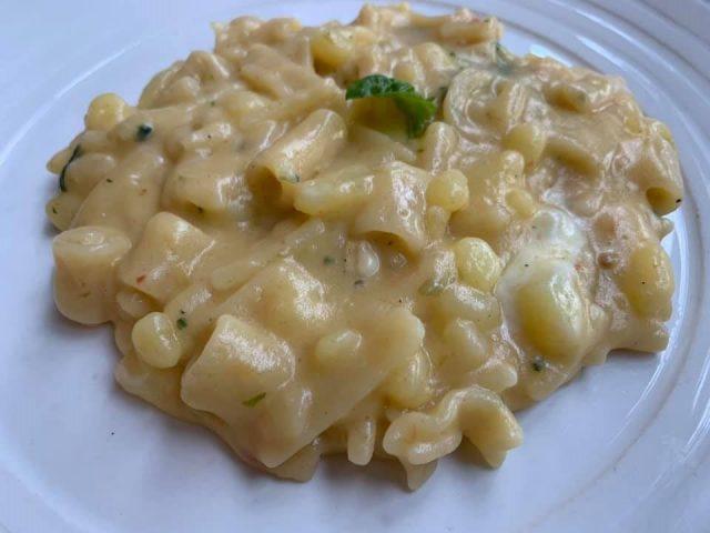 Ristorante al 53, la pasta e patate