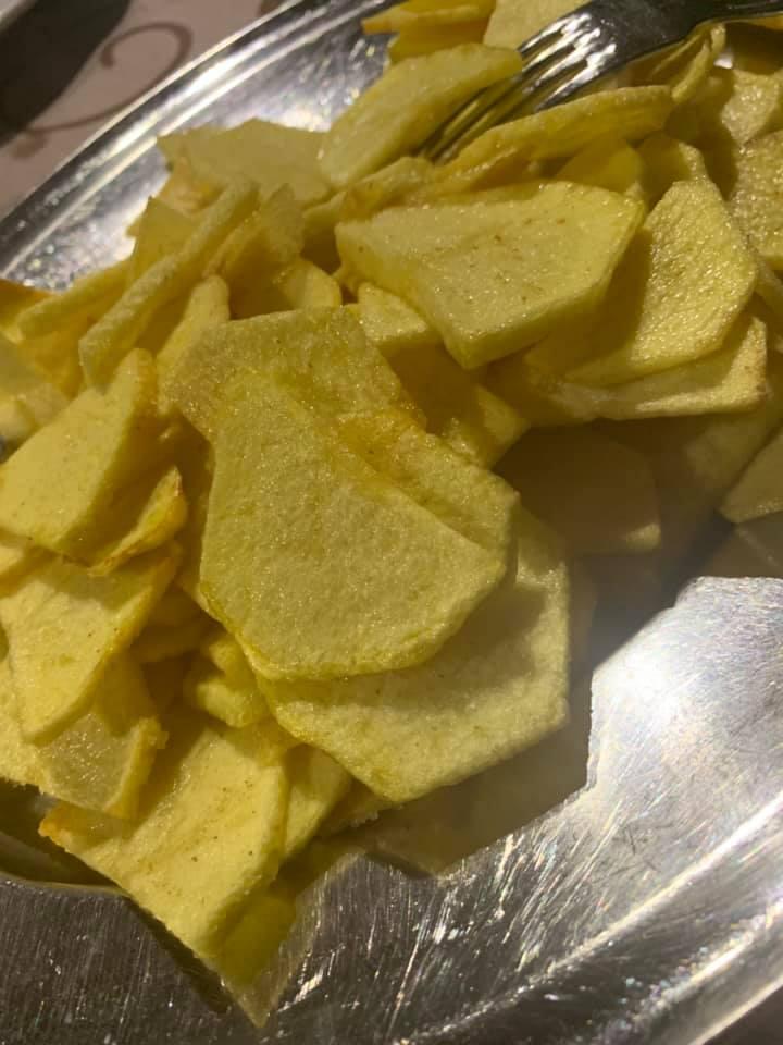 Il brigante - Patate tagliate a mano e fritte