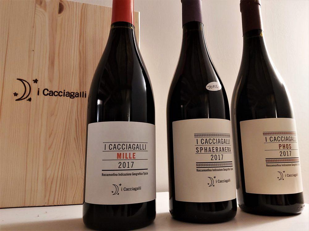 I Cacciagalli – i vini dell'azienda
