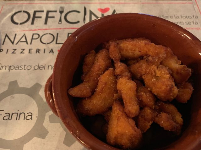 Officina Napoletana - straccetti di pollo fritti