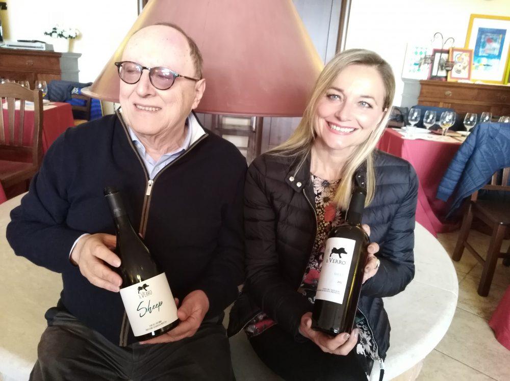 Antonella Amodio e Cesare Avenia