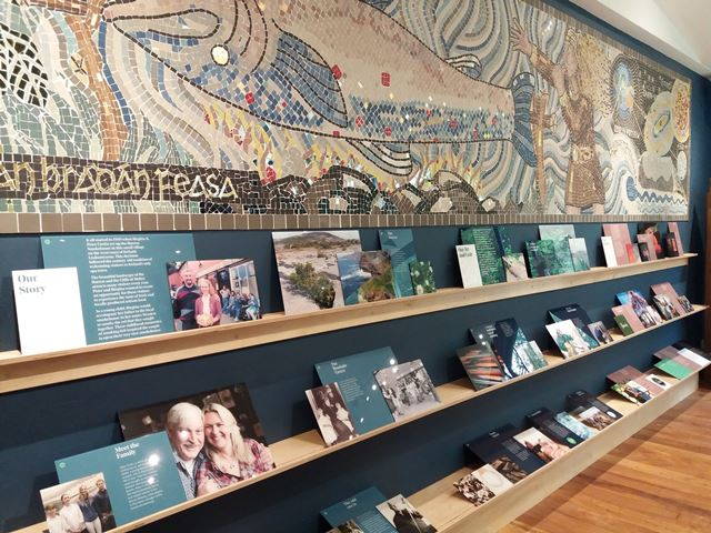Burren Smokehouse - Mosaico del Centro Visitatori
