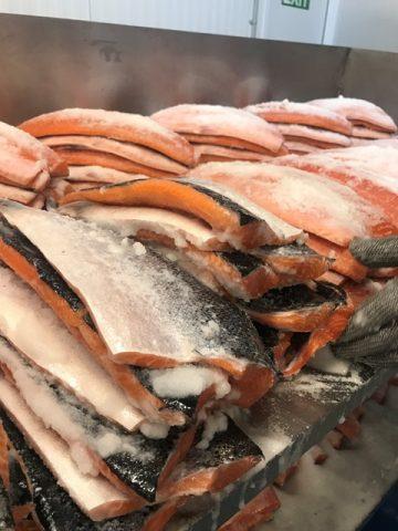 Burren Smokehouse - la preparazione del salmone irlandese