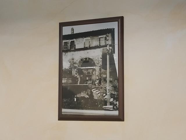 Casale del Fornaccio - una foto antica del casale