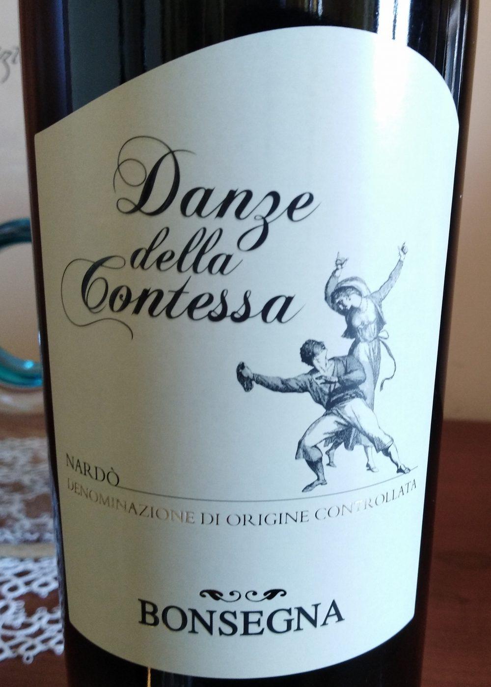Danze della Contessa Nardo' Rosso Doc 2017 Bonsegna