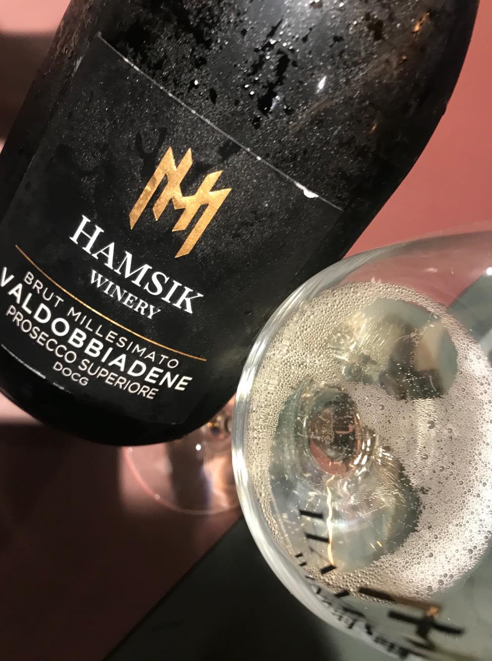Hamsik Winery, La Presentazione da Sano Sano