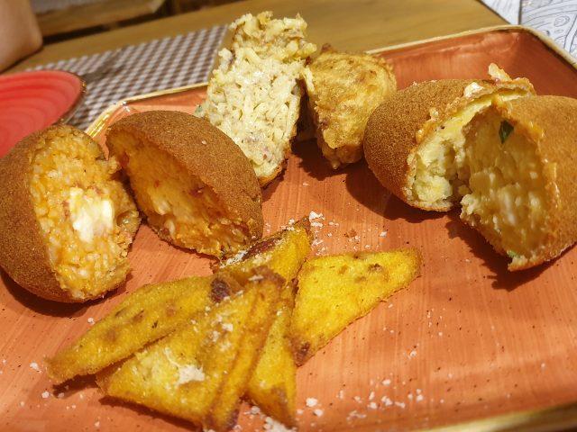 IIl Piennolo - Il fritto con l'arancino, il crocchee' di patate, la frittatina, gli scagliuozzi
