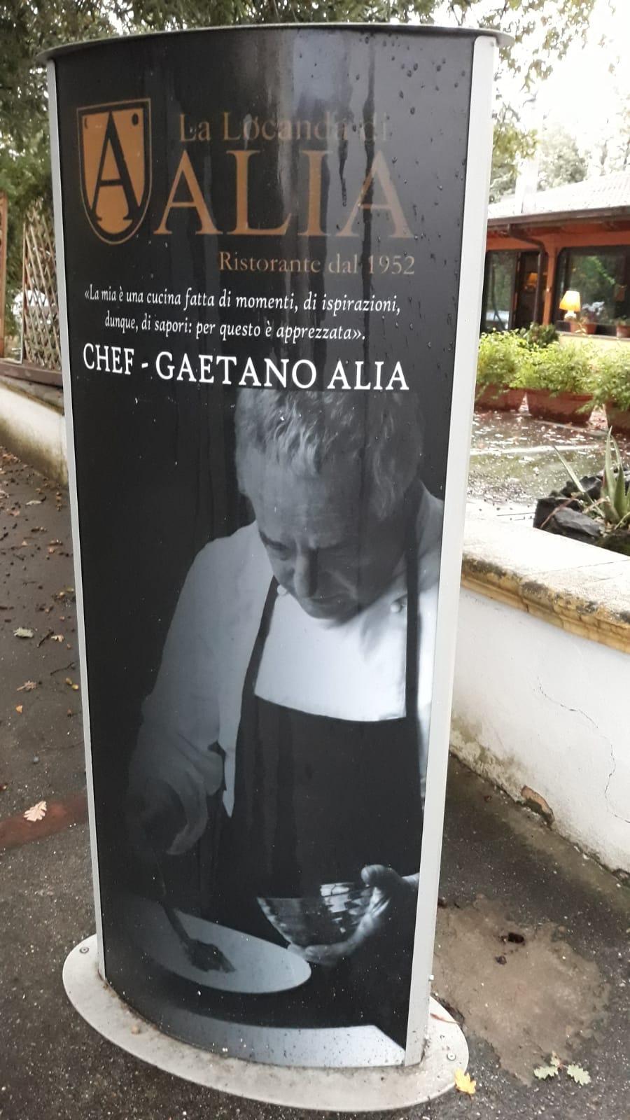 La Locanda di Alia - Chef