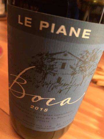 Le Piane Boca 2015