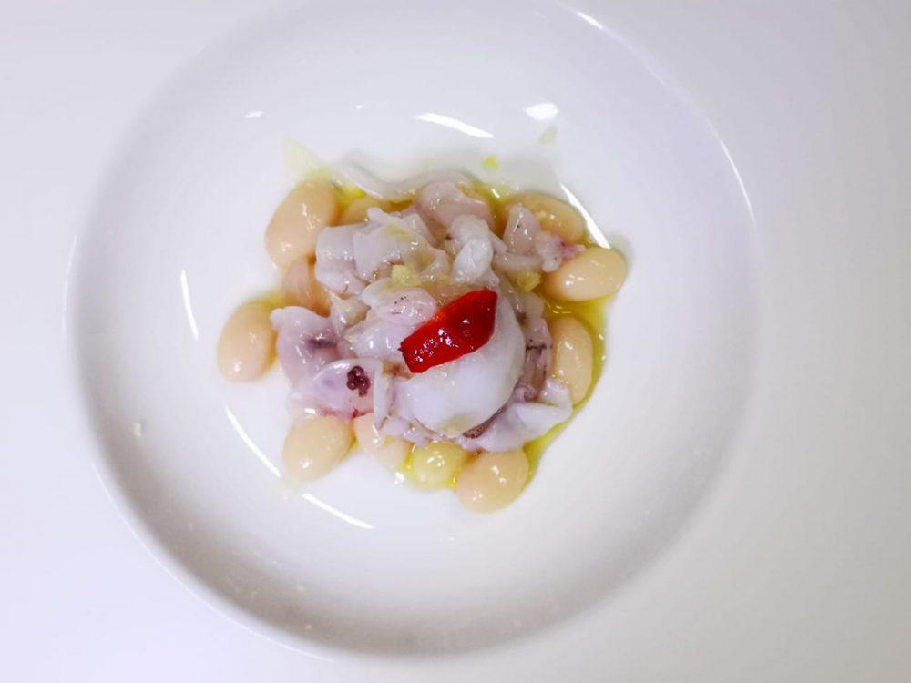 Locanda di Alia Castrovillari, calamaretti a velo e poverelli bianchi