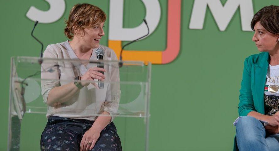 Antonia Klugmann a LSDM 2019 con Barbara Guerra