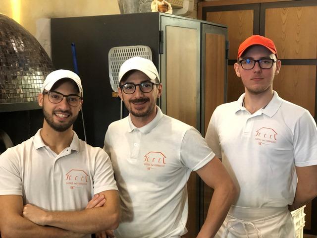 Luigi Matano, Ivan Crescentini e Nikolas Nosal